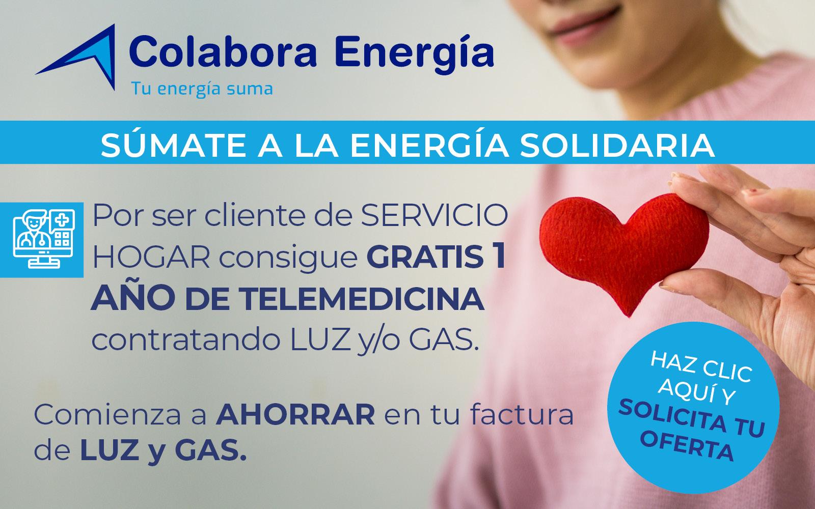 Colabora energía Servicio Hogar